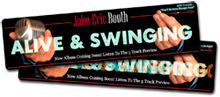 John Eric Booth: MP3 player / Flash banner design and development